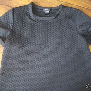 EUC! Ashley Stewart Quilted Tee
